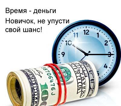 Работа во Интернет, её издержки и время