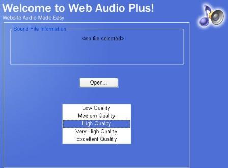 Как вставить аудио с помощью Web Audio Plus