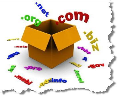 Принципы выбора домена