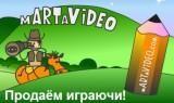 Создание doodle видео на mARTaVideo.com
